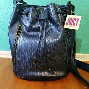 Juicy  navy duffle bag
